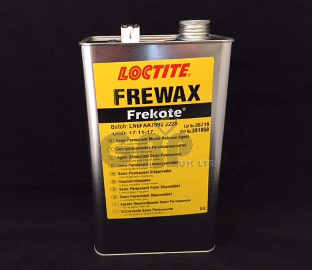 FreKote FREWAX Mould Release (5lts) – GRP UK LTD