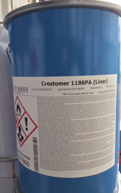 Scott Bader Crestomer 1186pa Liner 25kg Kegs Grp Uk Ltd